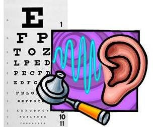 Hearing and vision screens - Tuesday Dec. 10