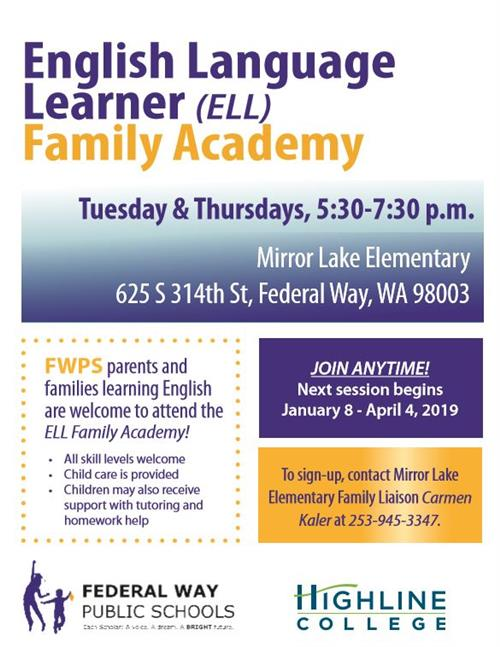 ELL Family Academy