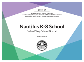 Congratulations to Nautilus K-8