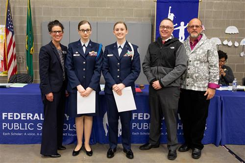 Air Force ROTC Scholarship Recipients