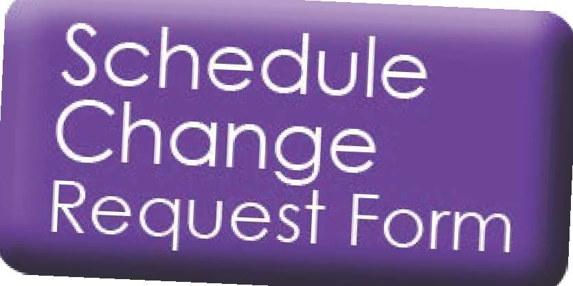 Schedule Change Requests