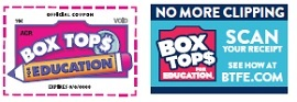 Box Tops For Education, Click for more info