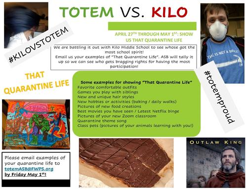 Totem vs Kilo Spirit Weeks