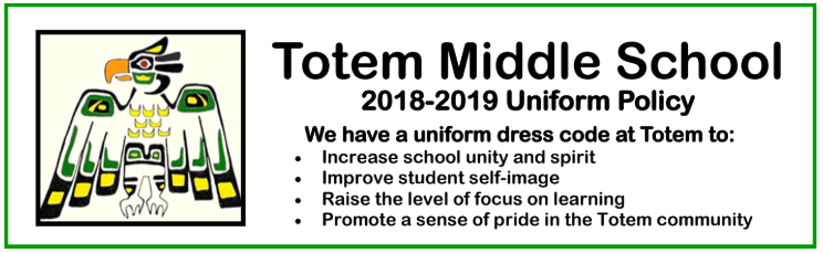 Totem's Uniform Policy