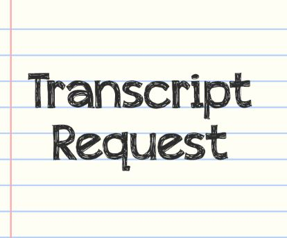 Official Transcript Request