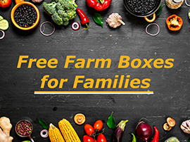 Free Farm Boxes for Families