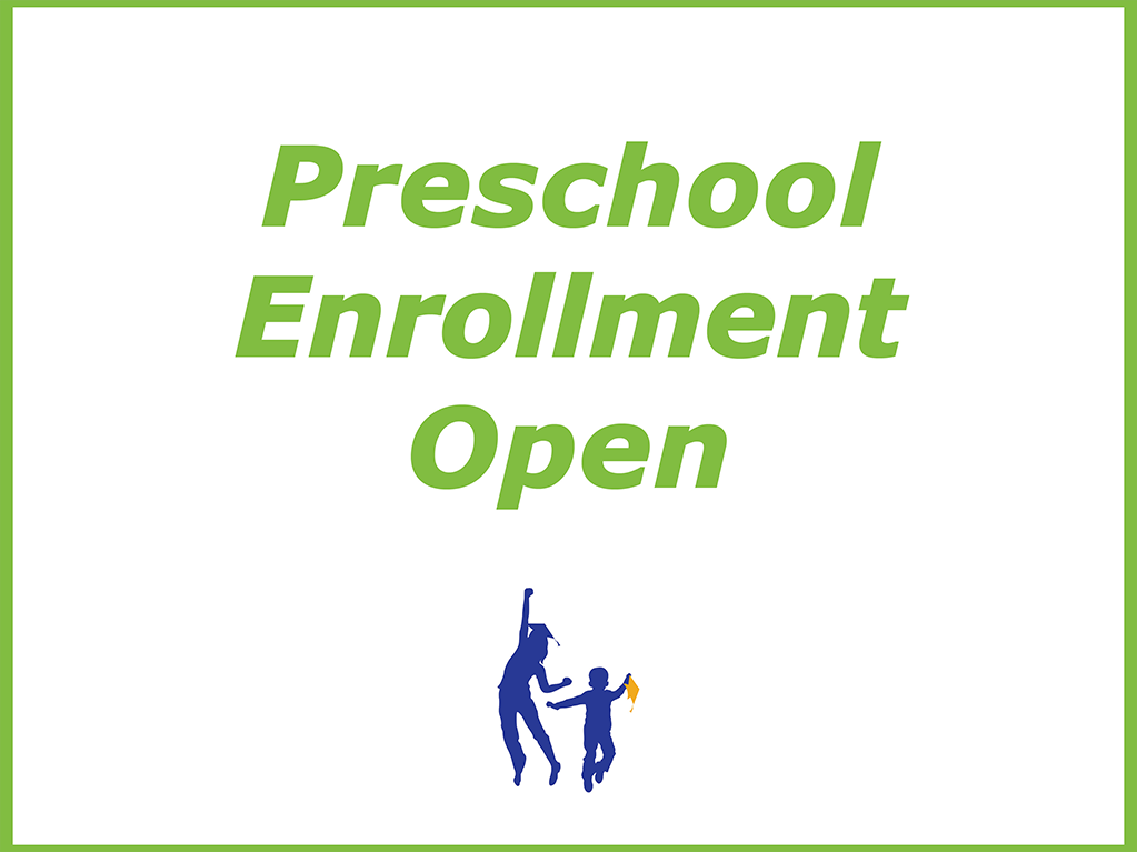 Preschool Enrollment Open