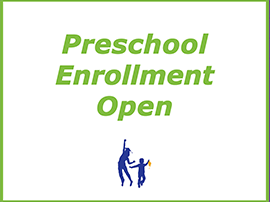 Preschool enrollment is open for the 2020-21 school year!