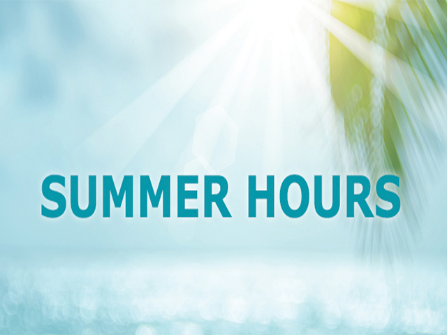 2018 Summer Hours for District and School Offices