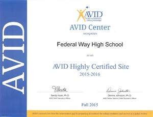 mission statement avid highly certified site