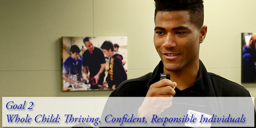 Goal 2 - Whole Child: Thriving, Confident, Responsible Individuals