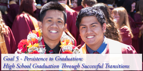Goal 5 - Persistence to Graduation: High School Graduation Through Successful Transitions